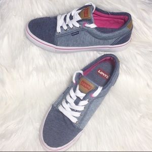 Levi's two toned canvas shoes